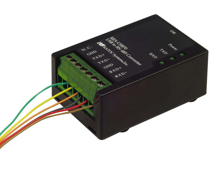USBポートにシリアル(RS-232C)機器を接続!