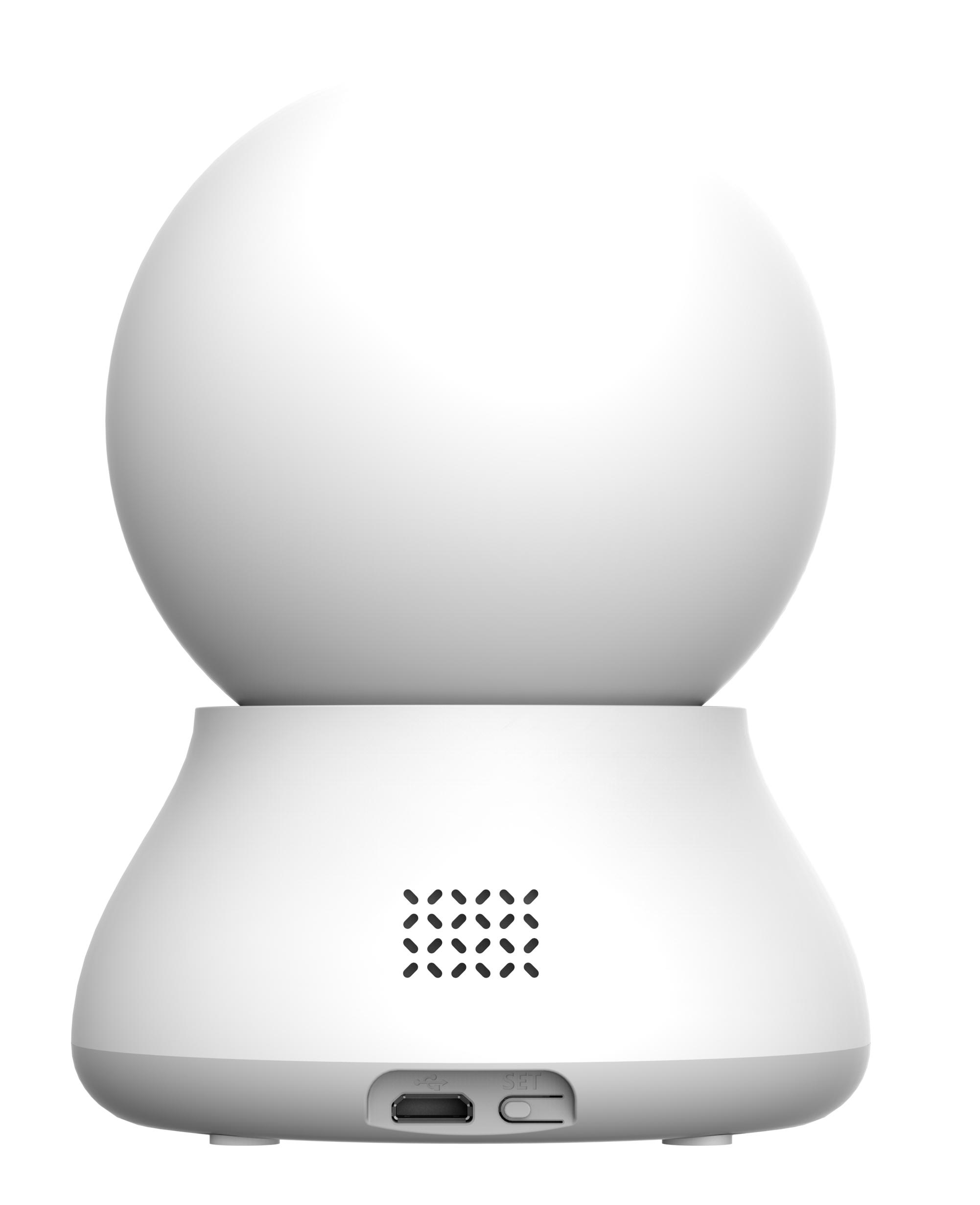 後ろから見たパンチルト、遠隔操作対応の 首振りタイプ RS-WFCAM2